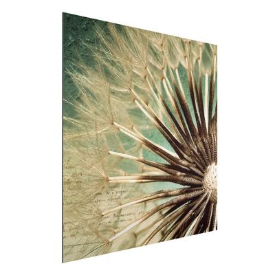 YOUR DECO SHOP DE Aluminium Print - Wandbild Closer than before - Quadrat 1:1