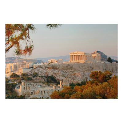 Aluminium Print - Wandbild Akropolis - Quer 2 3
